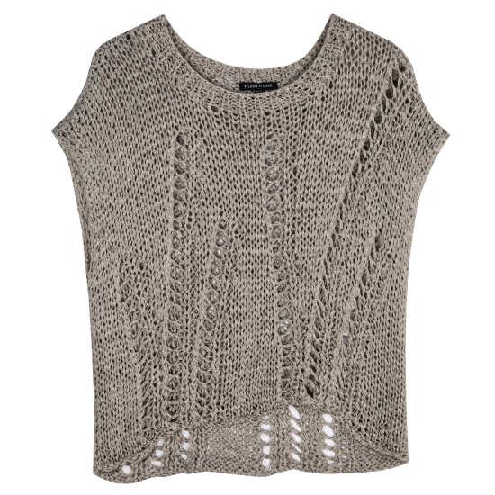 Open Twist Pullover