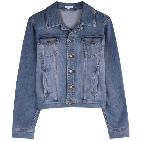 Organic Cotton Stretch Denim Jacket