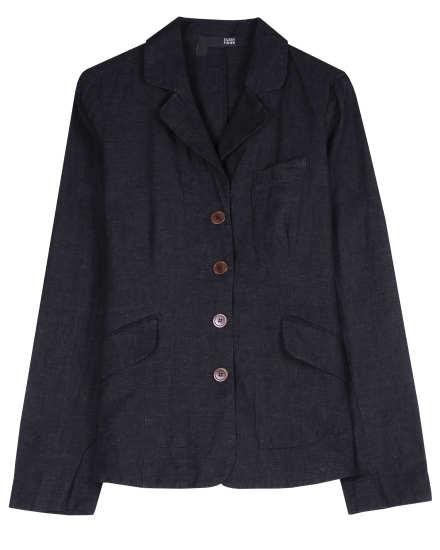 Rumpled Linen Delave Jacket