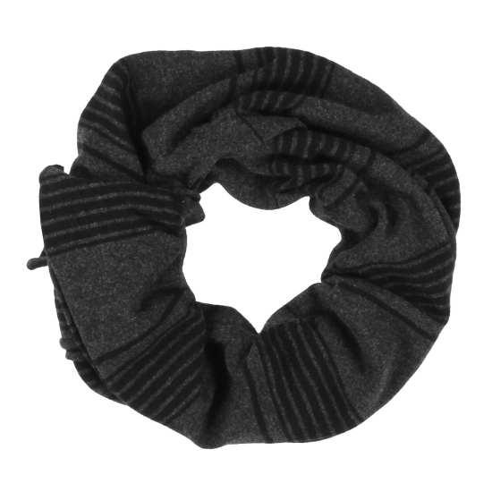 Merino Cashmere Stripe Scarf