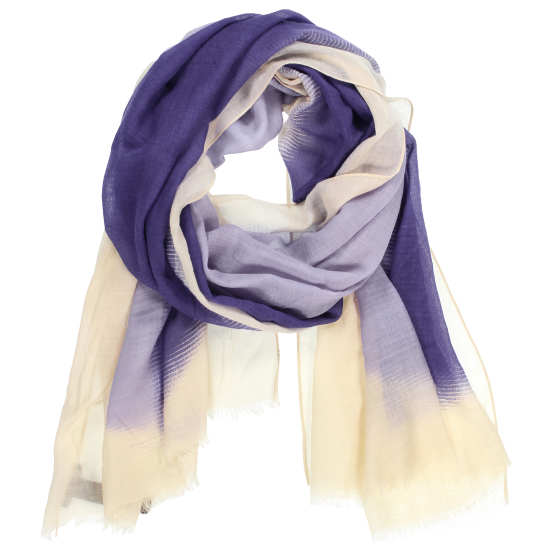 Celestial Silk Wool Gauze Scarf