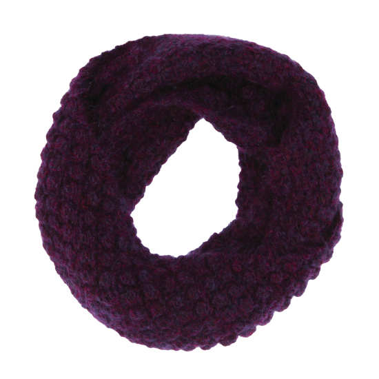 Hand-Knit Airy Mohair Scarf