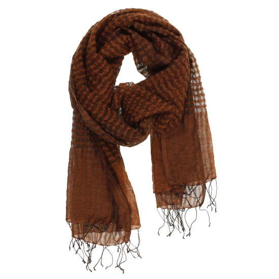 Airy Wool Cross-dye Scarf