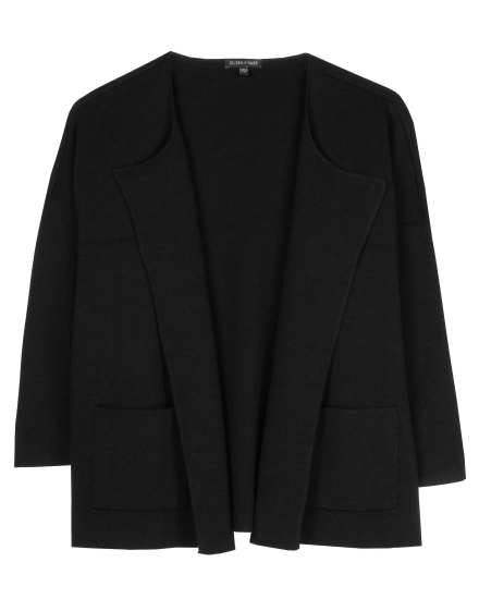 Superfine Washable Wool Interlock Jacket