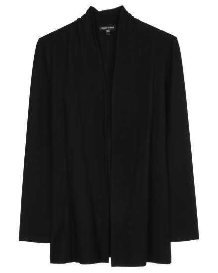 Washable Stretch Crepe Jacket
