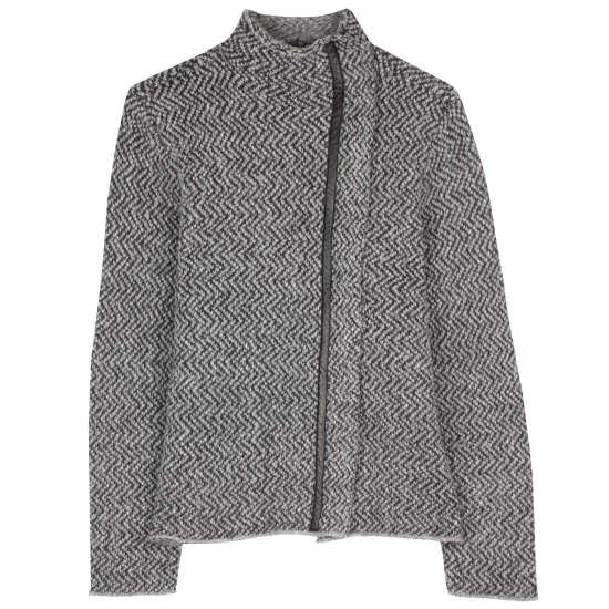 Eco Pebble Herringbone Jacket