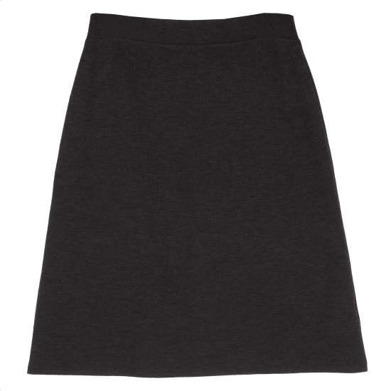 Washable Wool Interlock Skirt