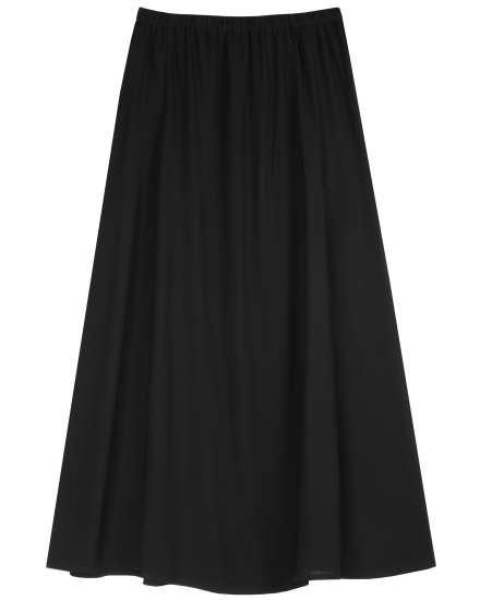 Silk Georgette Crepe Skirt