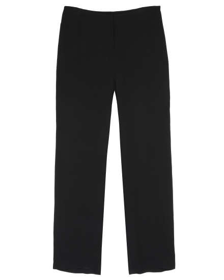 Heavyweight Silk Georgette Crepe Pant