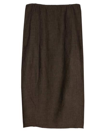 Cross-dyed Linen Rayon Skirt