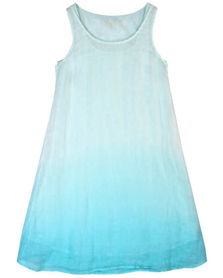 Ombre Linen Gauze Dress