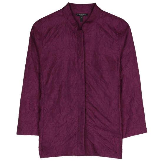 Crushed Silk Dupioni Jacket