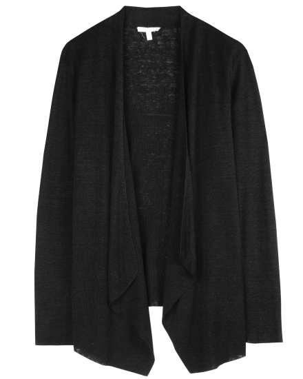Organic Linen Polished Knit Cardigan