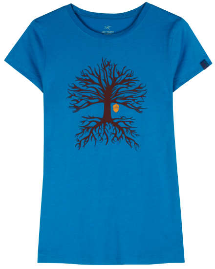 Evolution Tree SS Tshirt Women's