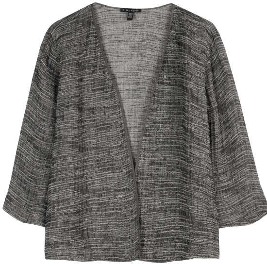 Linen Gauze Strata Jacket