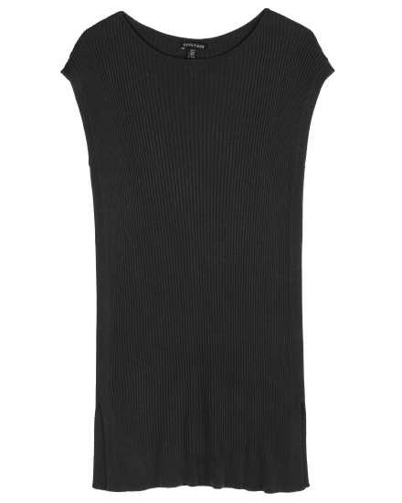 Sleek Tencel Rib Dress
