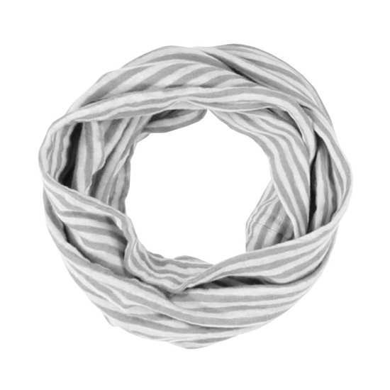 Linen Jersey Stripe Scarf
