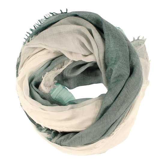 Cotton Modal Ombre Weave Scarf