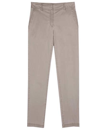 Washed Organic Cotton Tencel Twill Pant