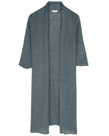 Fine Gauge Linen Cardigan