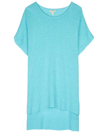 Lightweight Fine Gauge Linen Pullover