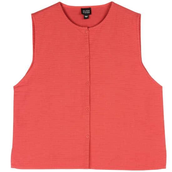 Quilted Cotton Vest
