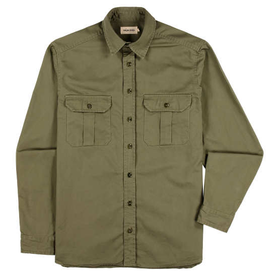 Olive Twill Highlands Shirt