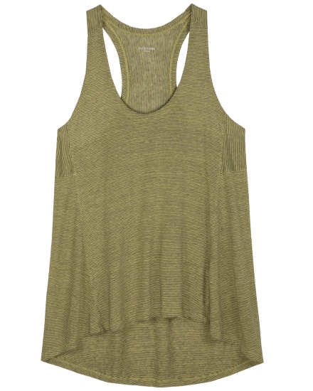 Linen Jersey With Mini Stripe Tank