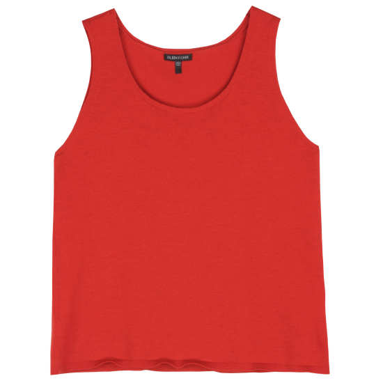 Washable Wool Crepe Jersey Tank