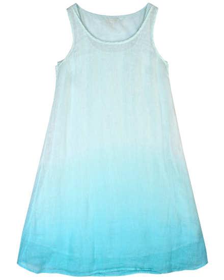 Ombre Linen Gauze Dress