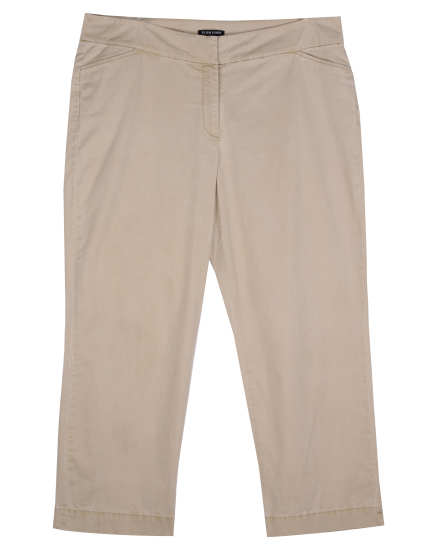 Washed Cotton Tencel Twill Pant
