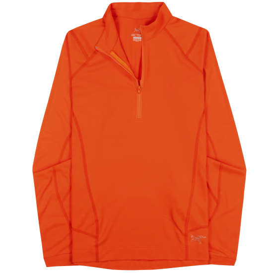 Ensa Zip Neck LS Women's