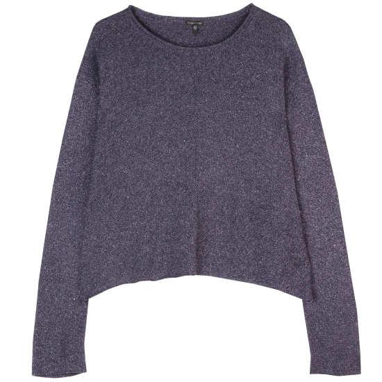 Silk Speckle Pullover