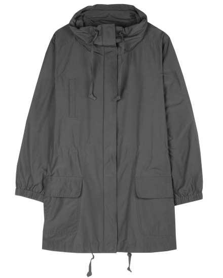 Weather Resistant Cotton Nylon Coat