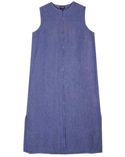 Cotton Textured Voile Dress