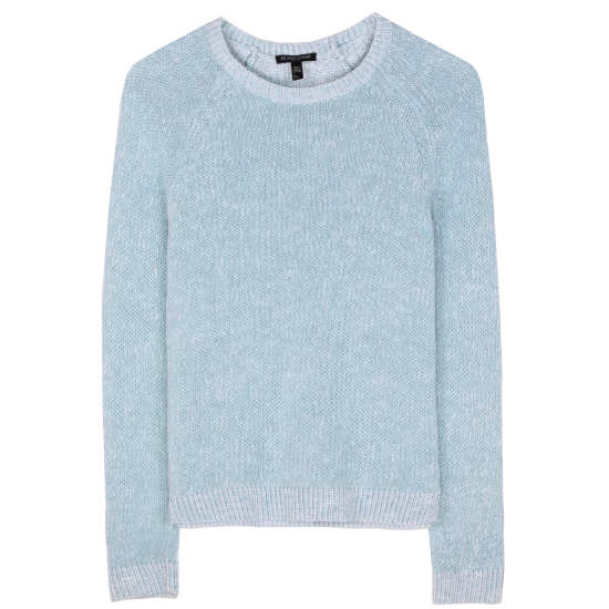 Plaited Organic Linen Cotton Slub Pullover