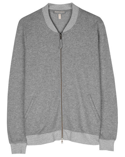 Organic Cotton Rib Jacket