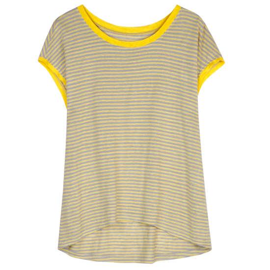 Linen Jersey Stripe Blouse