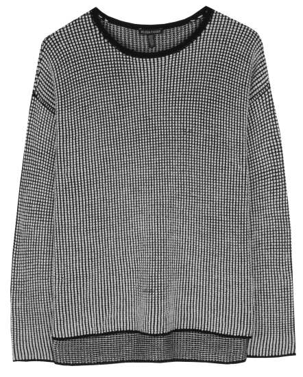 Embroidered Wool Pullover