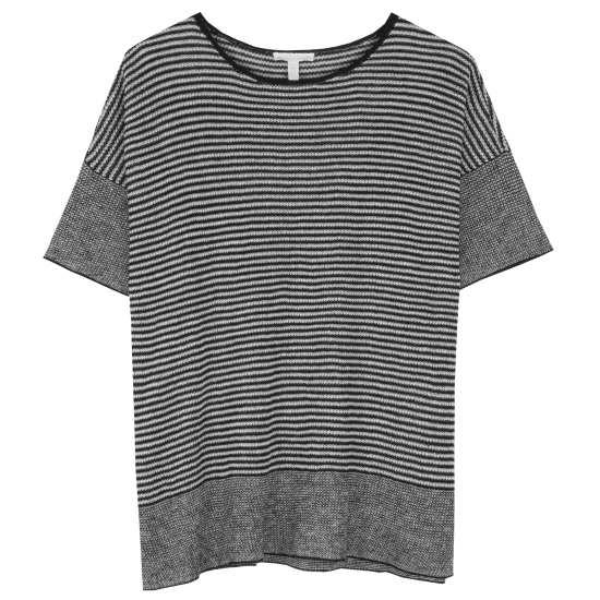 Organic Linen Stripe Pullover