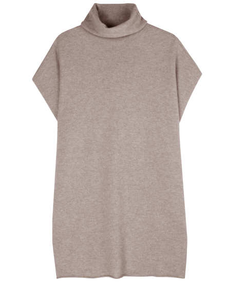 Natural Cashmere Jersey Pullover