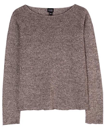 Linen Multitonal Pullover