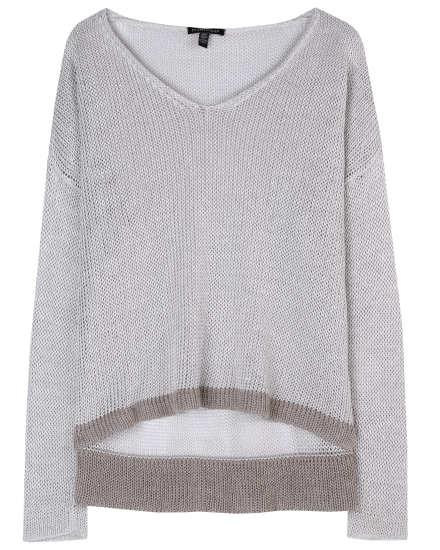 Linen Interlock Pullover