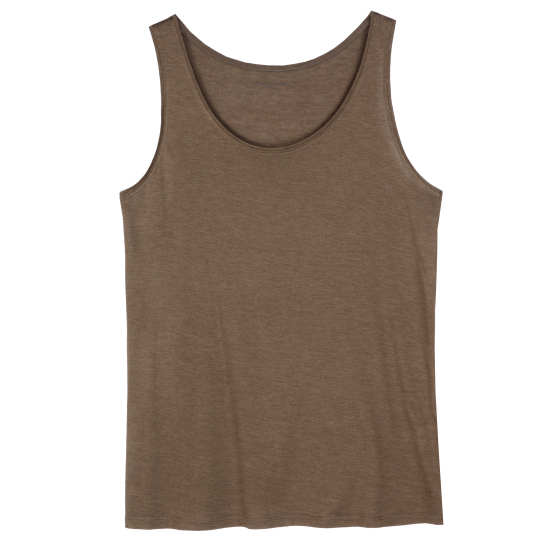 Silk Cotton Jersey Tank