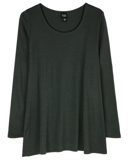 Wool Jersey Blouse