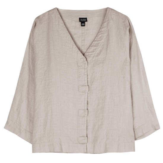 Linen Interlock Jacket