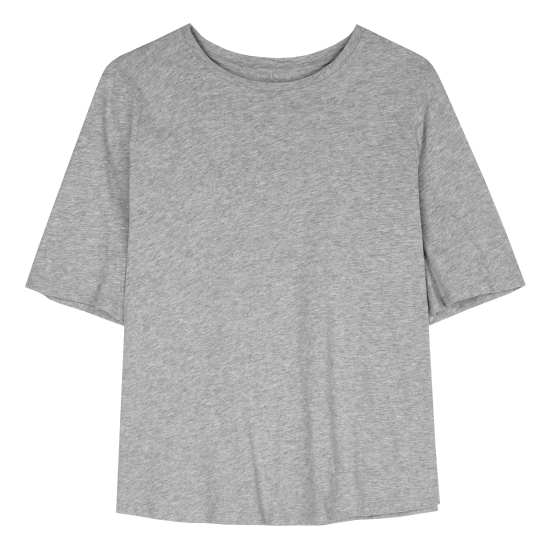 Quilted Organic Cotton Tee