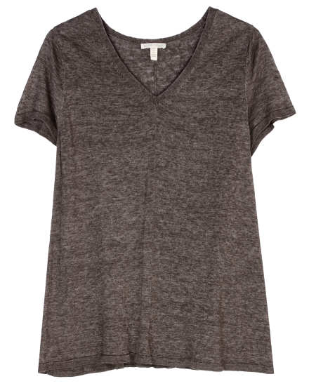 Double Dyed Fine Linen Tee