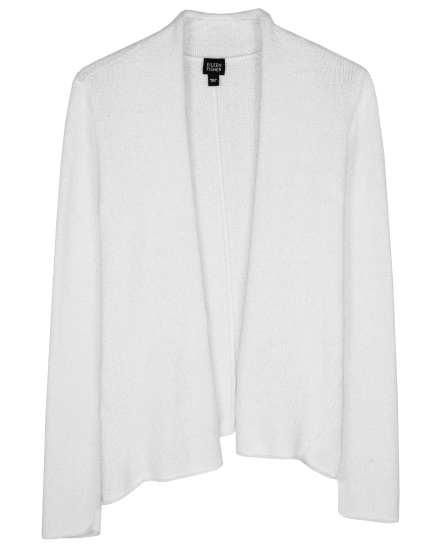 Cotton Nylong Boucle Cardigan