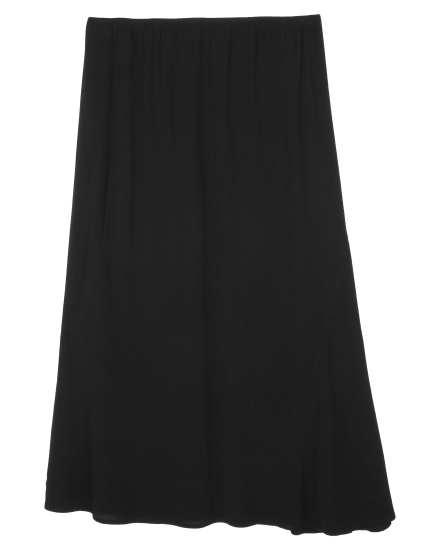 Crinkle Rayon Skirt